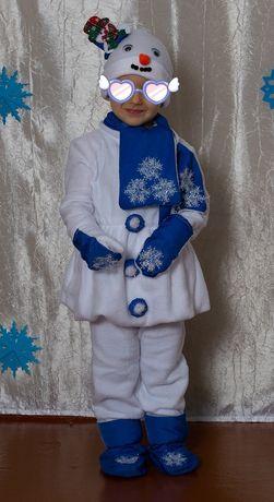 Аренда карнавальный костюм Снеговика.