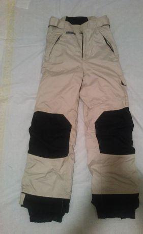 spodnie narciarskie MARKOWE! termoaktywne,wzmacniane msw CORDURA XS/S