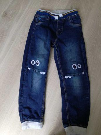 Spodnie jeansowe długie dla chłopca, cool club, rozmiar 128