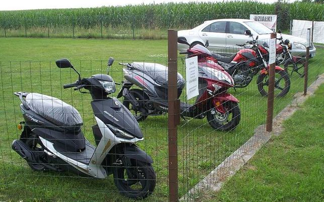 skuter motorower barton scalpel 50cm 3 motocykl