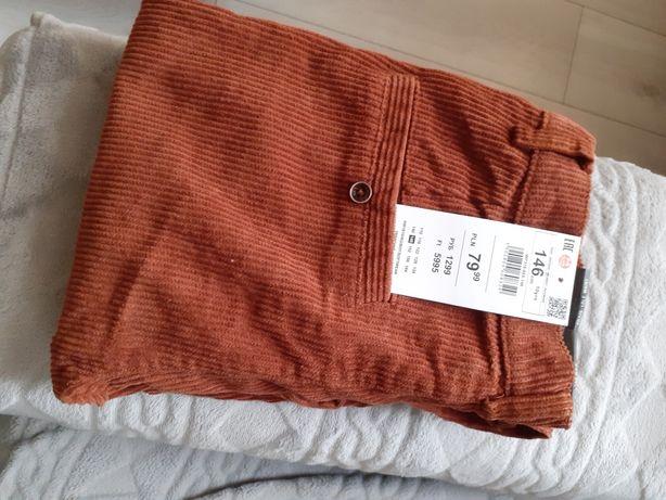 Spodnie sztruksowe Reserved