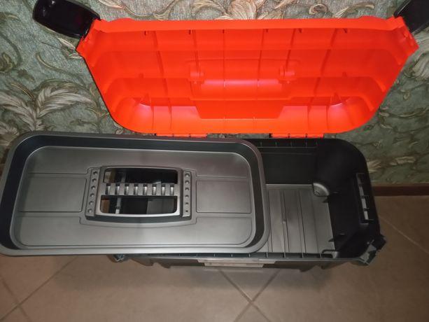 Ящик для инструмента, инструментов пластиковый  органайзер