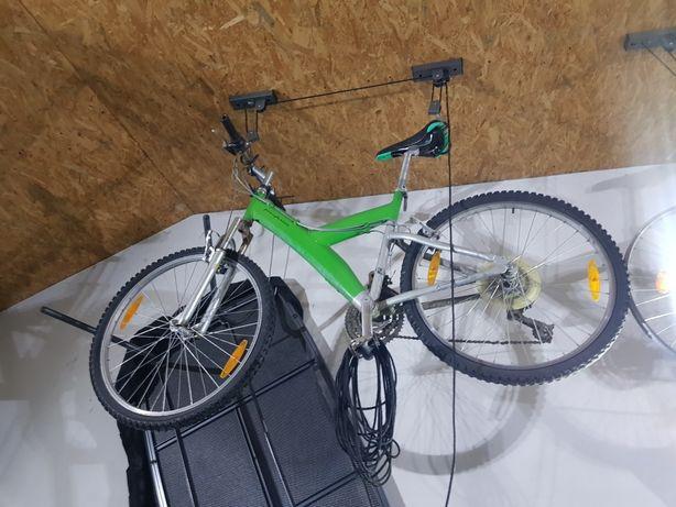 rower górski zielony