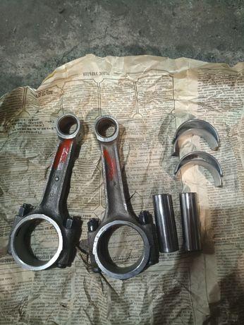Шатуны новые,Колено,глушитель,выхлопная труба,гайки, МТ Дгепр(ссср)