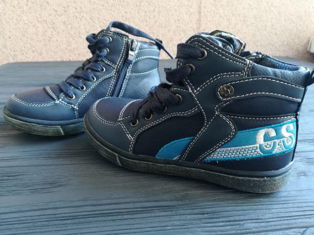 Тёплые ботинки clebee размер 28