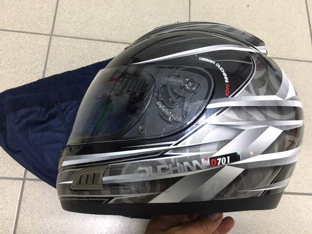 Kask motocyklowy XL DUCHINNI ,motor skuter