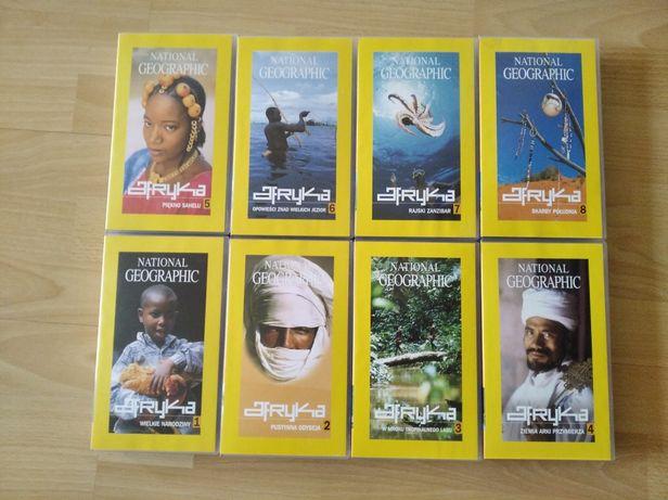 Filmy VHS o Afryce