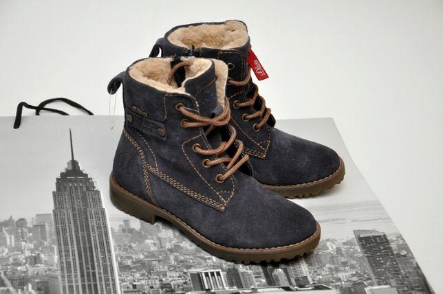 Теплые зимние ботинки на меху s.Oliver, Германия. р. 33 (21,0 см).