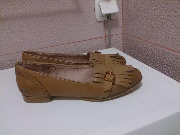 Duna Clarks loafer натуральная кожа 39- 38 туфли лоферы
