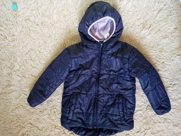 Куртка детская теплая р. 122