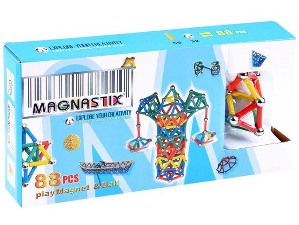 Klocki magnetyczne Magnastix 88 elementów ZKL1027