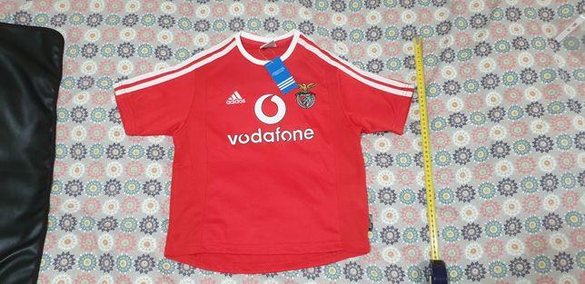 Camisola Benfica Adidas Vodafone Criança NOVA muito raro