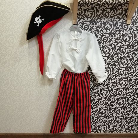 Карнавальный костюм Пират 7-9 лет