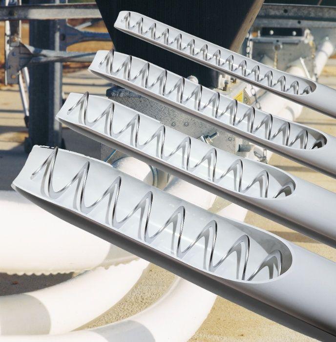 погрузчик зерна гибкий шнек для комбикорма спиральный транспортер pvc Каховка - изображение 1