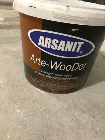 Farba do deski elewacyjnej arsanit  arte-wooder  Olcha