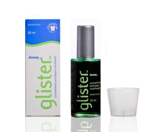GLISTER ополаскиватель для полоскания полости рта от Amway