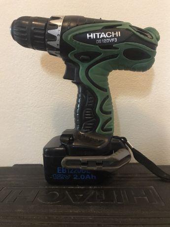 Wiertarko wkrętarka HITACHI DS 12DVF3