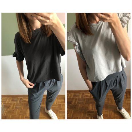 Koszulki t-shirty Zara rozm S jak XS