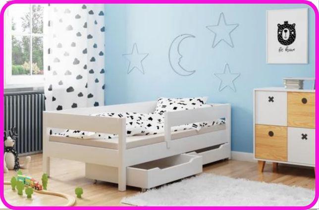 Дитяче ліжко з шухлядами MIX 140x70 160x80 180x80 180x90 200x90 -Рі