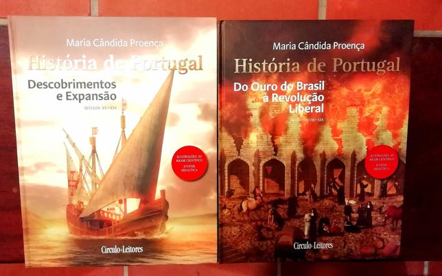 """Coleção """"História de Portugal"""" Círculo de leitores"""