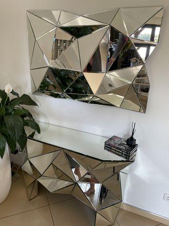 Zestaw komoda plus lustro firmy Kare Design