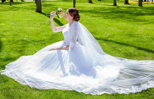 Продам свадебное платье ТМ DOMINISS р 44-46