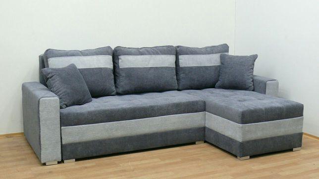 Nowy narożnik darmowy transport sofa wersalka kanapa funkcja spania