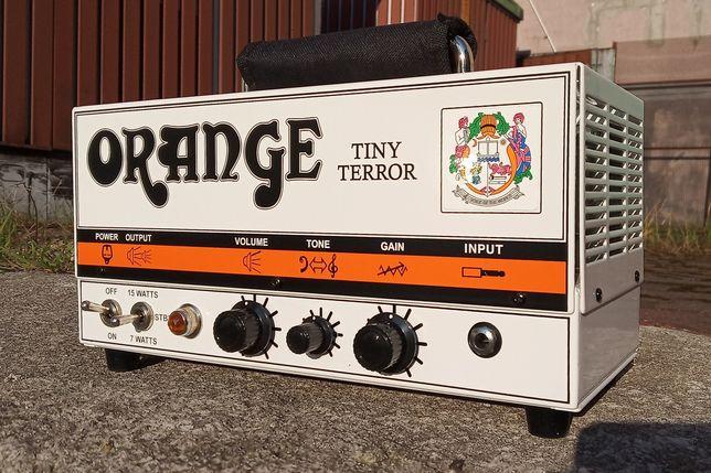 Orange Tiny Terror 15W lampowy + torba