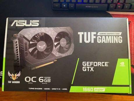 Placa gráfica  ASUS Tuf-Gaming GTX 1660 Super - Com garantia 2023