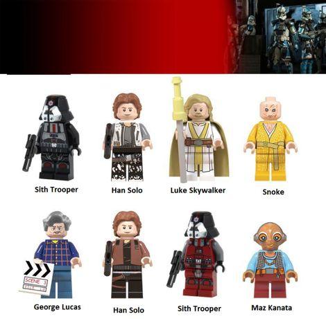 Bonecos minifiguras Star Wars nº52 NOVOS (compativel com lego)