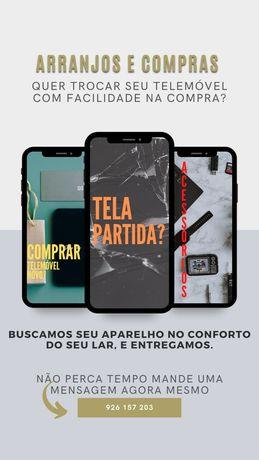 Serviços e vendas telemóveis