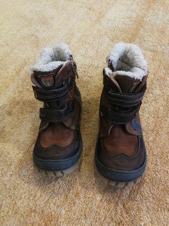 Buty skórzane zimowe lasocki 24