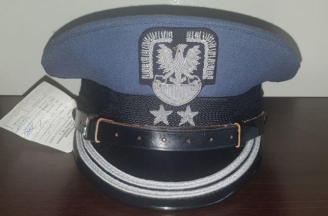 Czapka garnizonowa oficerska LWP PRL pilot wojskowy