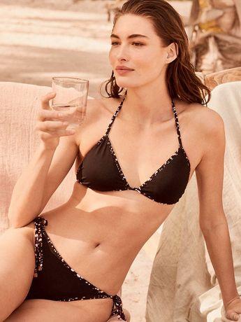 Двухсторонний купальник Victorias Secret топ и плавки Виктория Сикрет