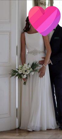Suknia ślubna JUSTIN ALEKSANDER, model 8733.