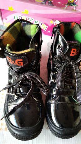 Демисезонные ботинки BG для девочки