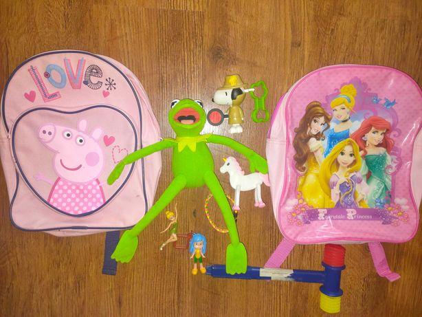 2 рюкзака для девочки