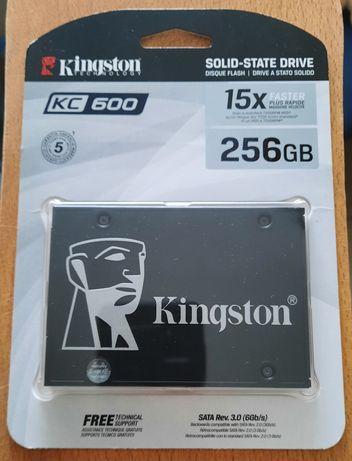 SSD накопитель Kingston KC600 256 GB New
