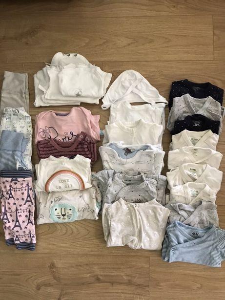 Zestaw ubranek niemowlecych dla wczensiaka 44-50cm