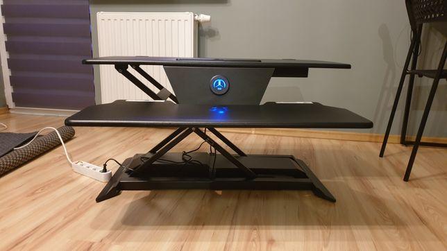 Nadstawka na biurko, pod komputer, elektryczna
