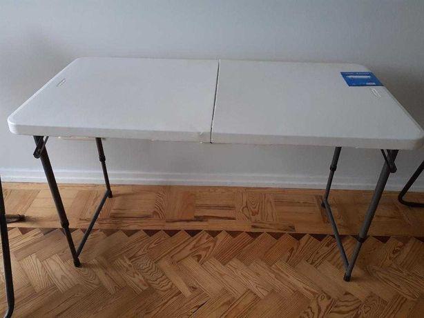 Conjunto mesa + 2 cadeiras dobraveis