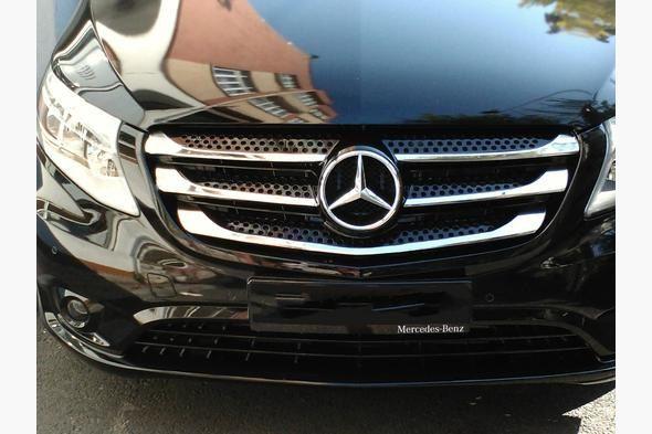 Хром на решетку Mercedes Vito 2010-2020 Хром накладки Вито 639-447