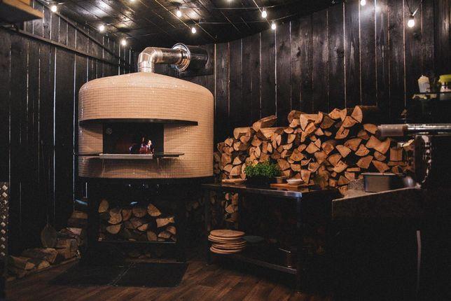 FENICE piec do pizzy opalany drewnem - hybryda (drewno/gaz) 6 pizz