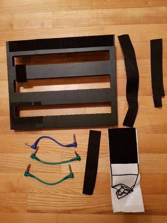 Pedalboard xvive + kable połączeniowe do efektów gitarowych - wysyłka