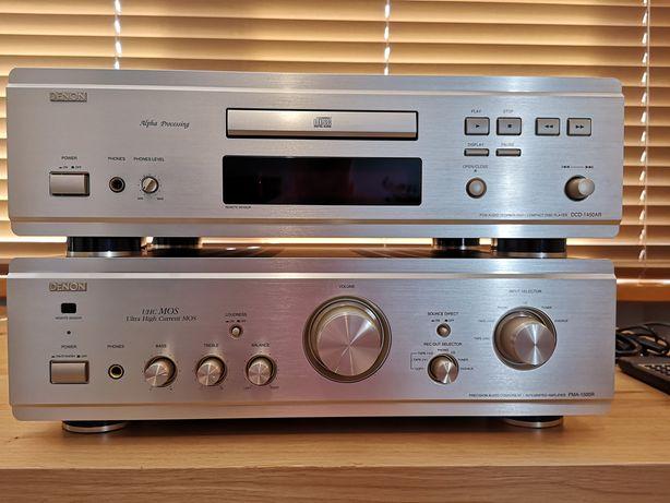 Zestaw Stereo DENON PMA-1500R i DENON DCD-1450AR
