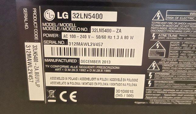 Televisão LG 32LN5400 para peças