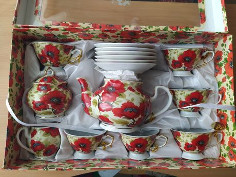 Подарочный набор чашки блюдца