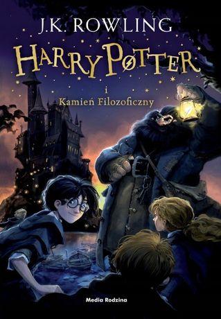 Harry Potter i Kamień Filozoficzny - J.K. Rowling - oprawa TWARDA