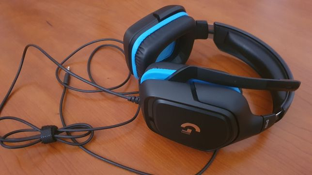 Headset Gaming Logitech G432 c/garantia