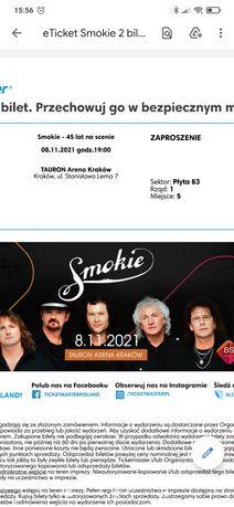 Zaproszenie na koncert Smokie